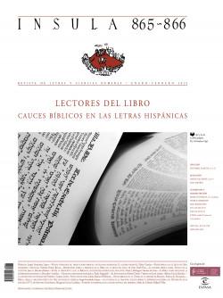 Lectores del Libro: cauces bíblicos en las letras hispánicas (Ínsula n° 865-866)